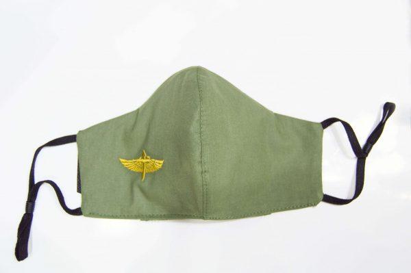 mascarilla higiénica reutilizable de aviación