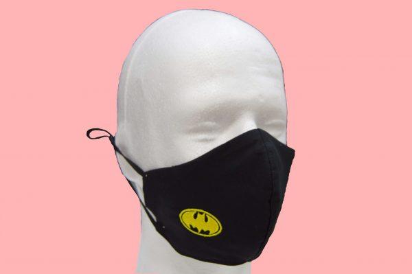 mascarilla higiénica reutilizable de Batman