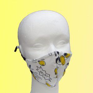 mascarilla higiénica reutilizable infantil