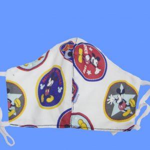 mascarilla higiénica reutilizable de Mickey Mouse